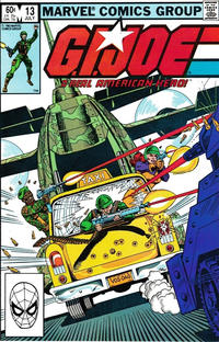 Cover Thumbnail for G.I. Joe, A Real American Hero (Marvel, 1982 series) #13 [Direct Edition]