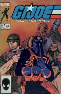 Cover Thumbnail for G.I. Joe, A Real American Hero (Marvel, 1982 series) #23 [Direct Edition]
