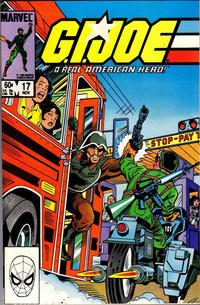 Cover Thumbnail for G.I. Joe, A Real American Hero (Marvel, 1982 series) #17 [Direct Edition]
