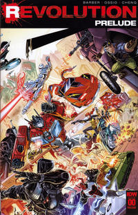 Cover Thumbnail for Revolution: Prelude (IDW, 2016 series) #00