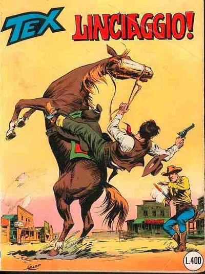 Cover for Tex (Sergio Bonelli Editore, 1958 series) #210