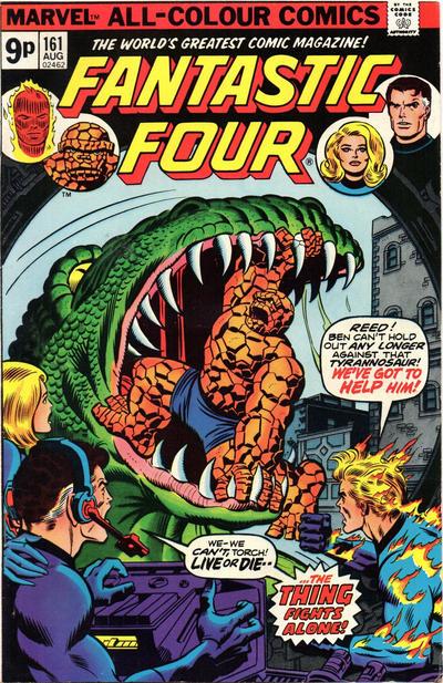 Cover for Fantastic Four (Marvel, 1961 series) #161 [Regular Edition]