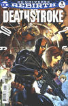 Cover for Deathstroke (DC, 2016 series) #1