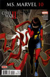 Cover Thumbnail for Ms. Marvel (2016 series) #10