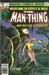 Cover for Man-Thing (Marvel, 1979 series) #5 [Newsstand]