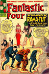 Cover for Fantastic Four (Marvel, 1961 series) #19 [British Price Variant]