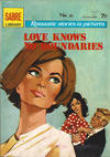 Cover for Sabre Romantic Stories in Pictures (Sabre, 1971 series) #60