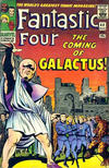 Cover for Fantastic Four (Marvel, 1961 series) #48 [British Price Variant]