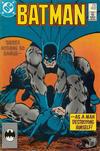 Cover for Batman (DC, 1940 series) #402 [No Cover Date - Bat Symbol UPC]
