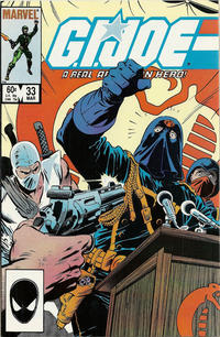Cover Thumbnail for G.I. Joe, A Real American Hero (Marvel, 1982 series) #33 [Direct Edition]