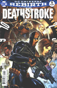 Cover Thumbnail for Deathstroke (DC, 2016 series) #1
