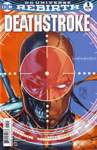 Cover Thumbnail for Deathstroke (DC, 2016 series) #1 [Shane Davis Cover]