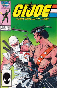 Cover Thumbnail for G.I. Joe, A Real American Hero (Marvel, 1982 series) #52 [Second Print]