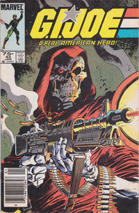 Cover for G.I. Joe, A Real American Hero (Marvel, 1982 series) #43 [Direct Edition]