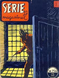 Cover Thumbnail for Seriemagasinet (Serieforlaget / Se-Bladene / Stabenfeldt, 1951 series) #7/1954
