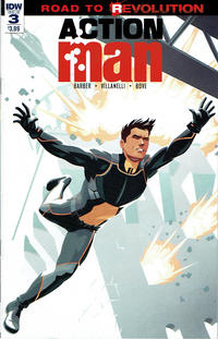 Cover Thumbnail for Action Man (IDW, 2016 series) #3 [Regular Cover]