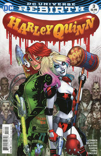 Cover Thumbnail for Harley Quinn (DC, 2016 series) #3 [Amanda Conner Cover Variant]
