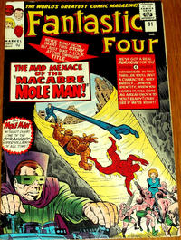Cover Thumbnail for Fantastic Four (Marvel, 1961 series) #31 [British]