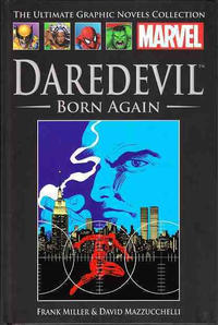 Cover Thumbnail for The Ultimate Graphic Novels Collection (Hachette Partworks, 2011 series) #8 - Daredevil: Born Again