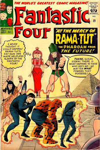 Cover for Fantastic Four (Marvel, 1961 series) #19 [Regular Edition]