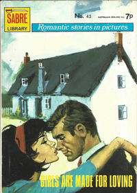 Cover Thumbnail for Sabre Romantic Stories in Pictures (Sabre, 1971 series) #45