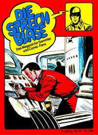 Cover Thumbnail for Die Sprechblase (Norbert Hethke Verlag, 1978 series) #25