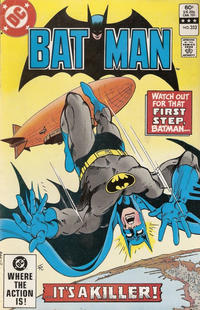 Cover Thumbnail for Batman (DC, 1940 series) #352 [No Cover Date Variant]