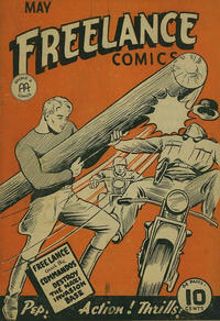 Cover Thumbnail for Freelance Comics (Anglo-American Publishing Company Limited, 1941 series) #v1#8