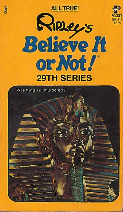 Cover for Ripley's Believe It or Not! (Pocket Books, 1941 series) #29
