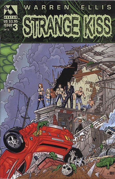 Cover for Strange Kiss (Avatar Press, 1999 series) #3 [Cover A]