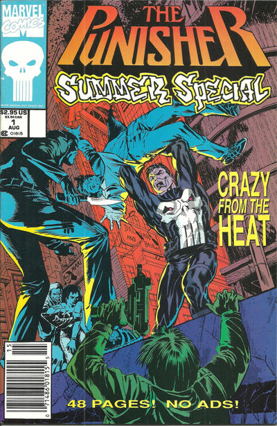 Cover for The Punisher Summer Special (Marvel, 1991 series) #1 [Direct]