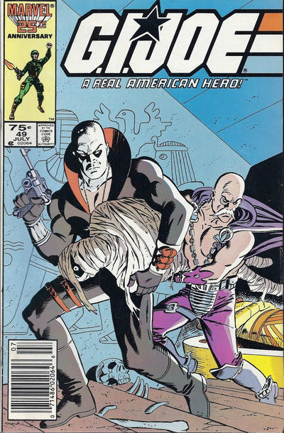 Cover for G.I. Joe, A Real American Hero (Marvel, 1982 series) #49 [Direct Edition]