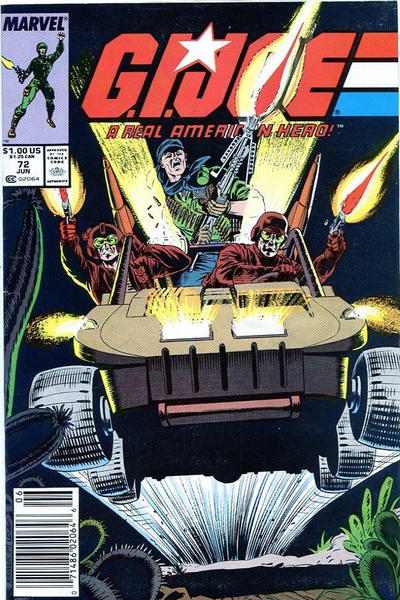 Cover for G.I. Joe, A Real American Hero (Marvel, 1982 series) #72 [Direct Edition]
