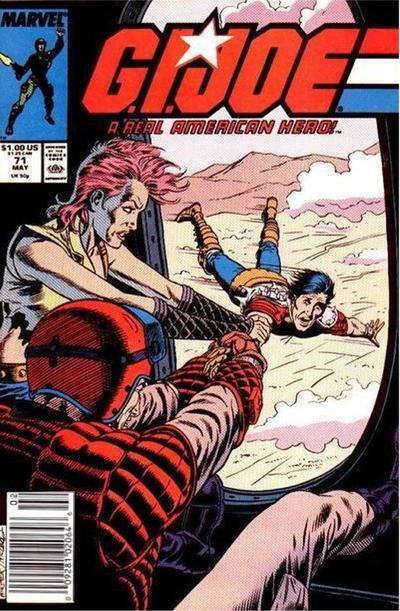 Cover for G.I. Joe, A Real American Hero (Marvel, 1982 series) #71 [Direct Edition]