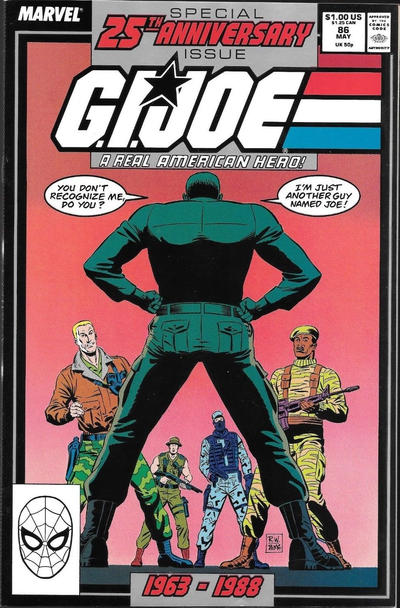 Cover for G.I. Joe, A Real American Hero (Marvel, 1982 series) #86 [Direct Edition]