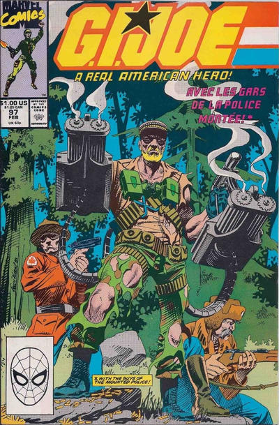 Cover for G.I. Joe, A Real American Hero (Marvel, 1982 series) #97 [Direct Edition]