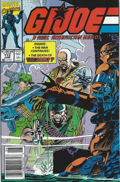 Cover for G.I. Joe, A Real American Hero (Marvel, 1982 series) #113 [Direct Edition]