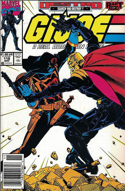 Cover for G.I. Joe, A Real American Hero (Marvel, 1982 series) #118 [Direct Edition]