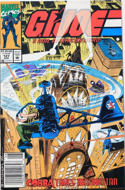 Cover for G.I. Joe, A Real American Hero (Marvel, 1982 series) #127 [Direct Edition]