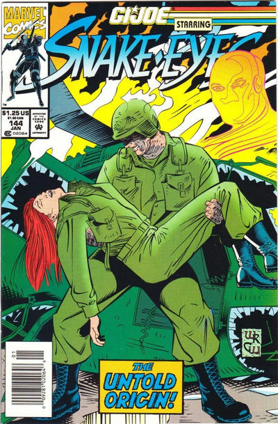 Cover for G.I. Joe, A Real American Hero (Marvel, 1982 series) #144 [Direct Edition]