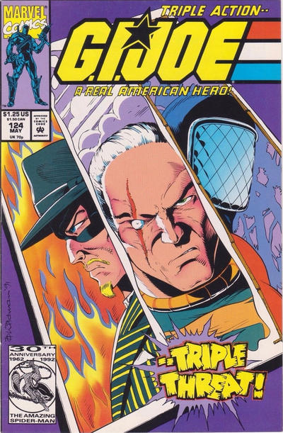Cover for G.I. Joe, A Real American Hero (Marvel, 1982 series) #124 [Direct Edition]