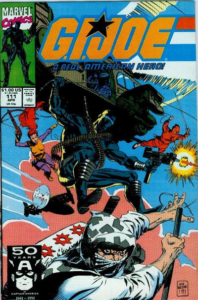 Cover for G.I. Joe, A Real American Hero (Marvel, 1982 series) #111 [Direct Edition]