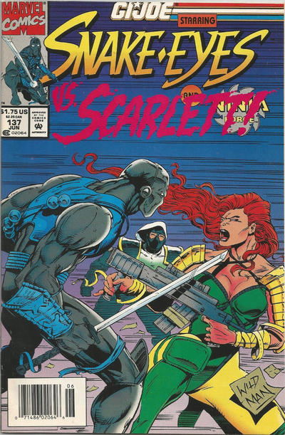 Cover for G.I. Joe, A Real American Hero (Marvel, 1982 series) #137 [Direct Edition]