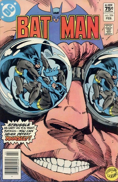 Cover for Batman (DC, 1940 series) #356 [Direct-Sales]