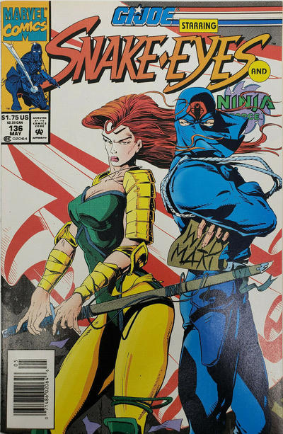 Cover for G.I. Joe, A Real American Hero (Marvel, 1982 series) #136 [Direct Edition]