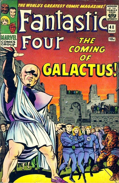 Cover for Fantastic Four (Marvel, 1961 series) #48 [Regular Edition]