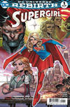 Cover for Supergirl (DC, 2016 series) #1