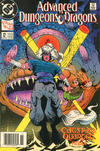 Cover for Advanced Dungeons & Dragons Comic Book (DC, 1988 series) #12 [Newsstand]