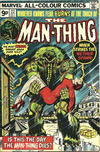 Cover for Man-Thing (Marvel, 1974 series) #22 [British]
