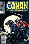 Cover for Conan the Barbarian (Marvel, 1970 series) #202 [Newsstand]